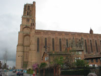Le cathedral d'Albi
