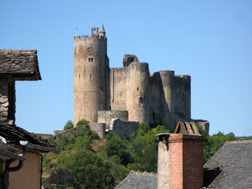 Najac - the chateau